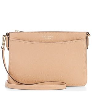 Kate Spade ♠️ Margaux Crossbody in LIGHT FAWN